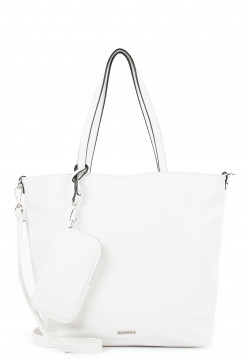 EMILY & NOAH Shopper Bag in Bag Surprise mittel Weiß 311300 white 300