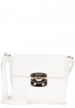EMILY & NOAH Handtasche mit Überschlag Luca klein Weiß 62180300 white 300