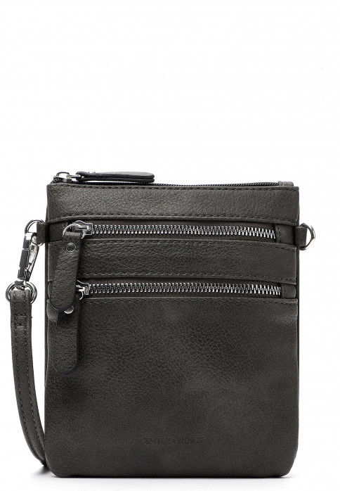EMILY & NOAH Handtasche mit Reißverschluss Emma Grau 60392800-1790 grey 8