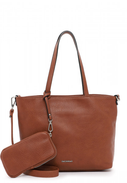 EMILY & NOAH Shopper Bag in Bag Surprise klein Braun 310700 cognac 700