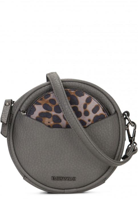 EMILY & NOAH Handtasche mit Reißverschluss Samira Grau 61830840 darkgrey 840