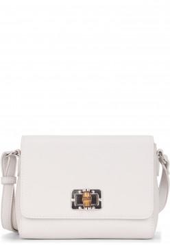 EMILY & NOAH Handtasche mit Überschlag Lexa klein Grau 62210320 ecru 320