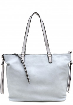 EMILY & NOAH Shopper Bag in Bag Surprise Blau 432581D-1790 lightblue lightgrey 581D