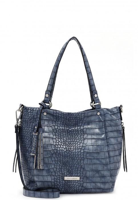 EMILY & NOAH Shopper Elisabeth mittel Blau 62843500 blue 500
