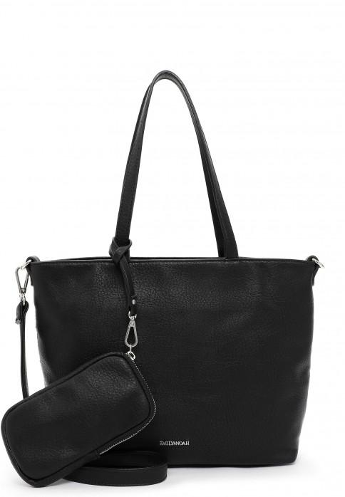EMILY & NOAH Shopper Bag in Bag Surprise klein Schwarz 310100 black 100