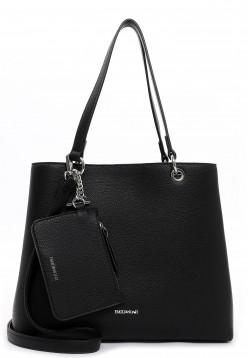EMILY & NOAH Shopper Dora mittel Schwarz 62435100 black 100