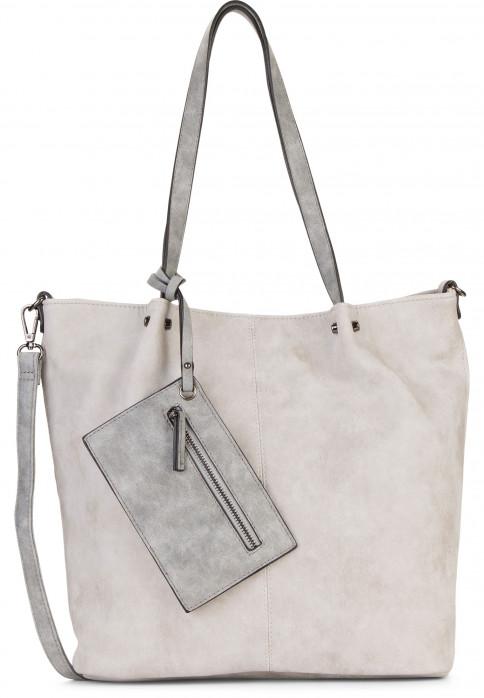 EMILY & NOAH Shopper Bag in Bag Surprise Grau 300838 lightgrey grey 838