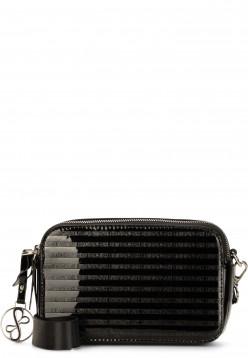 EMILY & NOAH Handtasche mit Reißverschluss Leslie klein Schwarz 62200100 black 100