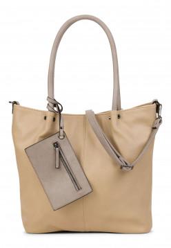 EMILY & NOAH Shopper Bag in Bag Surprise Beige 400428 sand lightgrey 428