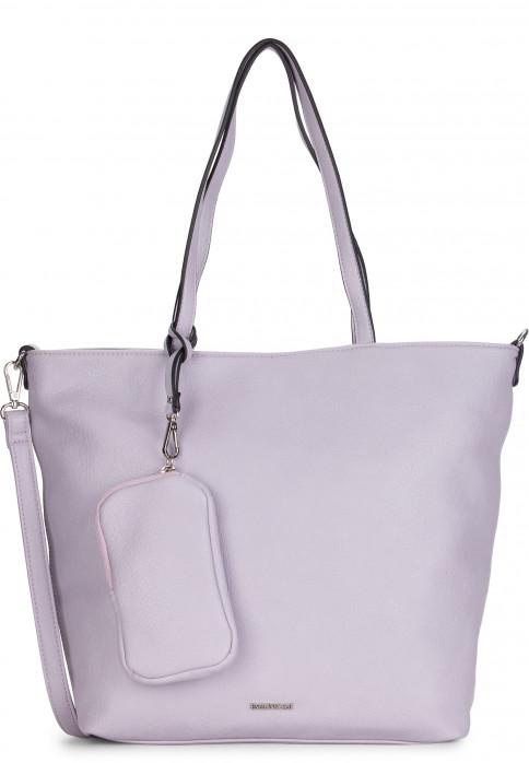 EMILY & NOAH Shopper Bag in Bag Surprise mittel Lila 311621 lightlilac 621