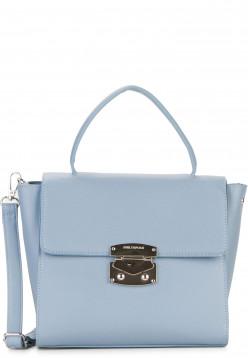 EMILY & NOAH Handtasche mit Überschlag Luca mittel Blau 62182530 lightblue 530
