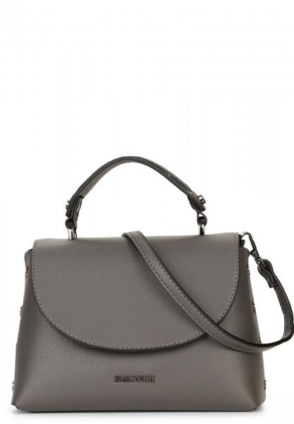 EMILY & NOAH Handtasche mit Überschlag Sabrina Grau 61822840 darkgrey 840