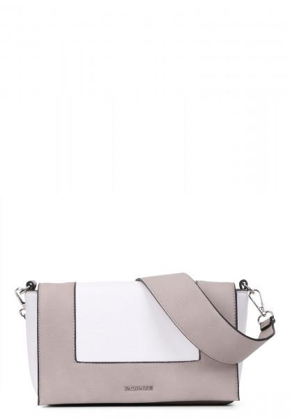 Handtasche mit Überschlag Priska quer