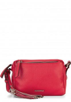 EMILY & NOAH Handtasche mit Reißverschluss Leonie klein Rot 62080600 red 600