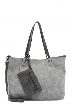 EMILY & NOAH Shopper Bag in Bag Surprise Grau 301808 grey/darkgrey 808
