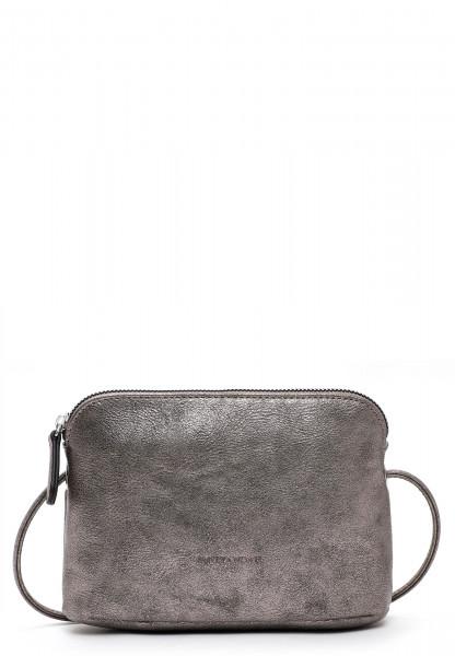 EMILY & NOAH Handtasche mit Reißverschluss Emma Silber 60393833 darksilver 833