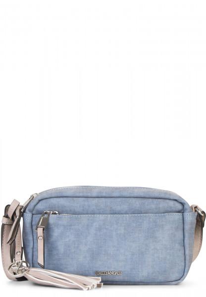EMILY & NOAH Handtasche mit Reißverschluss Laura klein Blau 62000500 blue 500