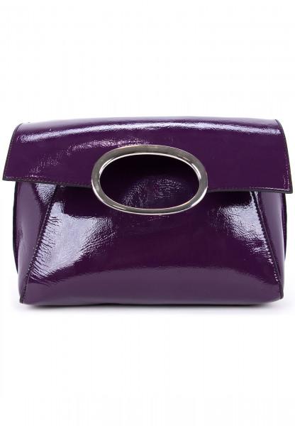 Handtasche mit Überschlag Sarah-Lack No.1
