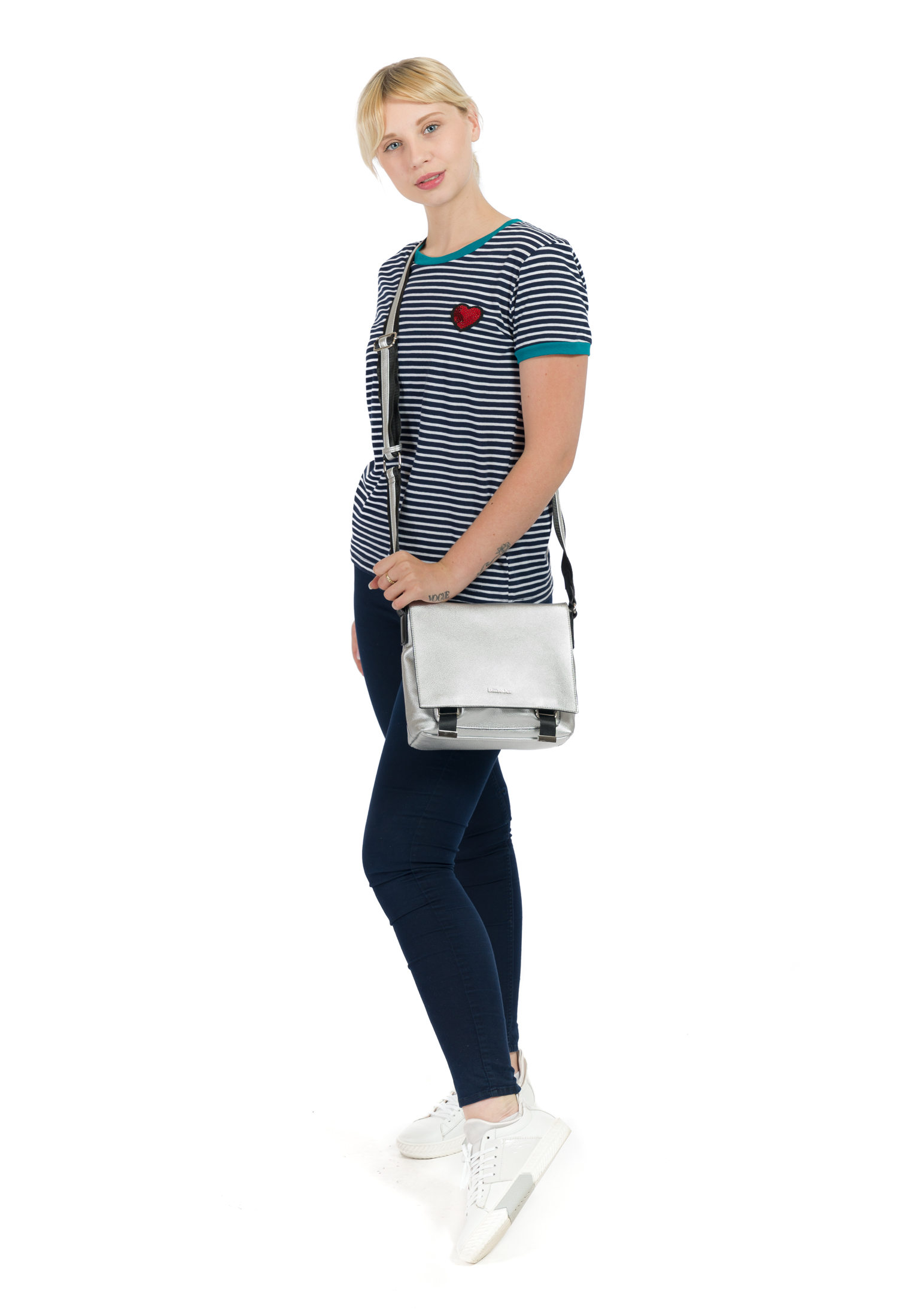 Handtasche mit Überschlag Luna mittel