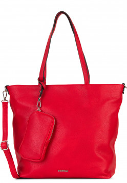 EMILY & NOAH Shopper Bag in Bag Surprise mittel Rot 311600 red 600