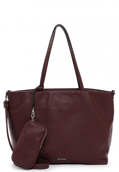 EMILY & NOAH Shopper Bag in Bag Surprise groß Rot 312690 wine 690
