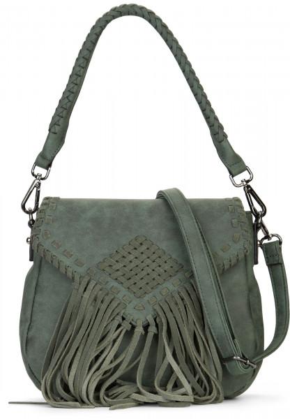 EMILY & NOAH Handtasche mit Überschlag Samantha Grün 61734930 green 930