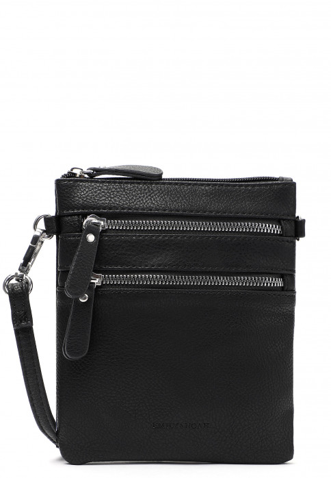 EMILY & NOAH Handtasche mit Reißverschluss Emma Schwarz 60392100F-1790 black 100F