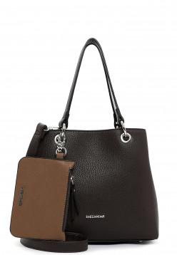 EMILY & NOAH Shopper Dora klein Braun 62434209 brown/taupe 209