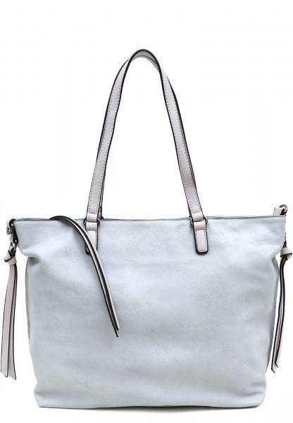 EMILY & NOAH Shopper Bag in Bag Surprise Blau 432581D-1790 lightblue lightgrey 581D