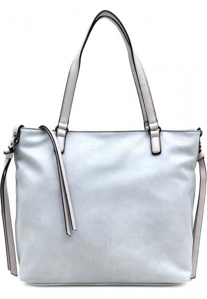 EMILY & NOAH Shopper Bag in Bag Surprise Blau 431581D-1790 lightblue lightgrey 581D