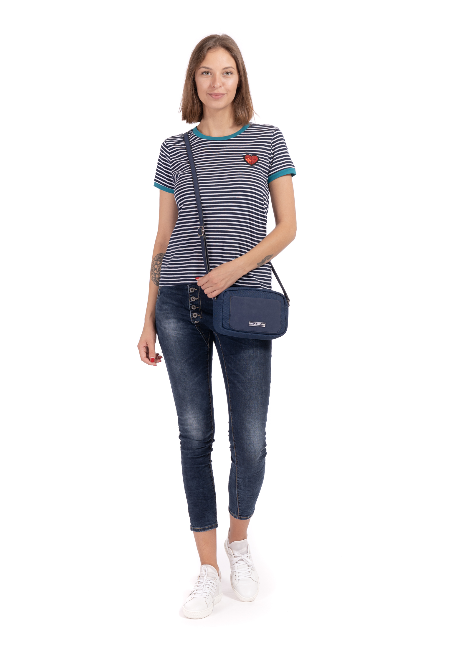 Handtasche mit Reißverschluss Lena klein