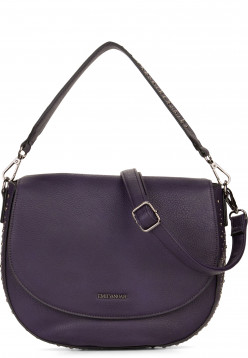 EMILY & NOAH Handtasche mit Überschlag Shirin Lila 61853620 purple 620