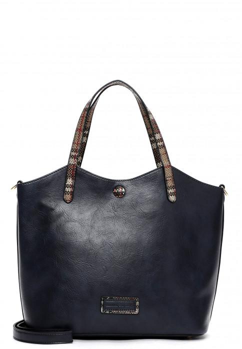 EMILY & NOAH Shopper Desiree mittel Blau 62467500 blue 500