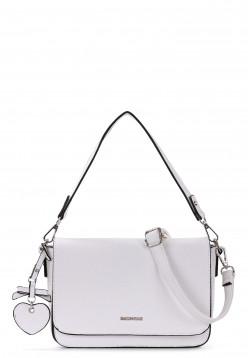 Handtasche mit Überschlag Paulina quer