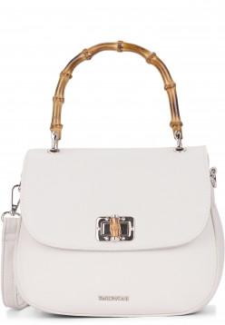 EMILY & NOAH Handtasche mit Überschlag Lexa mittel Grau 62212320 ecru 320