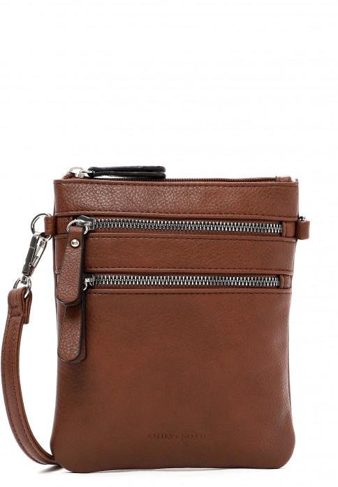 EMILY & NOAH Handtasche mit Reißverschluss Emma Braun 60392700 cognac 700