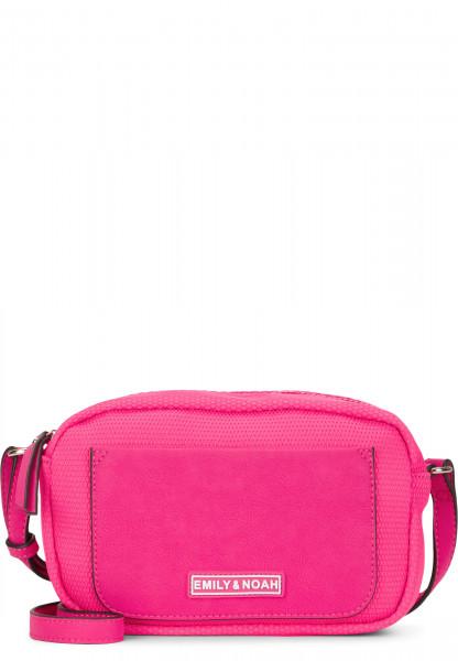 EMILY & NOAH Handtasche mit Reißverschluss Lena klein Pink 62071670 pink 670