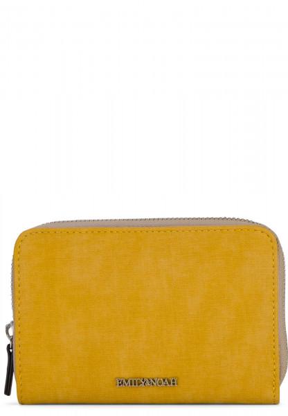 EMILY & NOAH Geldbörse mit Reißverschluss Laura Gelb 62007460 yellow 460