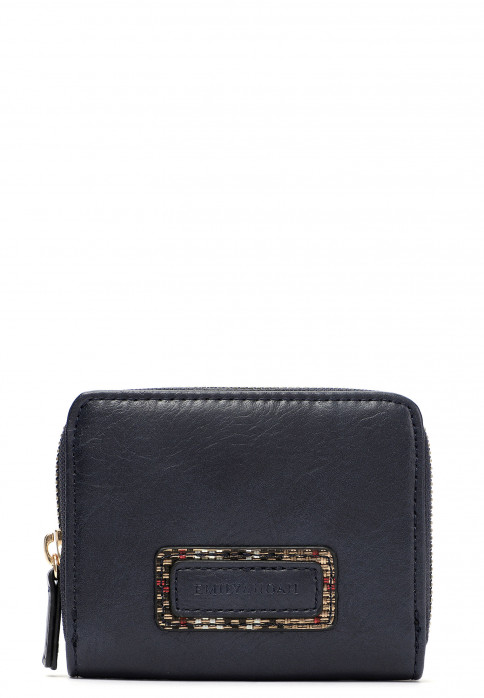 EMILY & NOAH Geldbörse mit Reißverschluss Desiree  Blau 62470500 blue 500