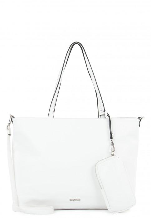 EMILY & NOAH Shopper Bag in Bag Surprise groß Weiß 312300 white 300