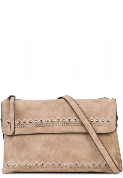 EMILY & NOAH Handtasche mit Reißverschluss Siggi Braun 61890900 taupe 900