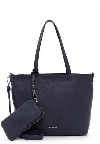 EMILY & NOAH Shopper Bag in Bag Surprise klein Blau 310500 blue 500