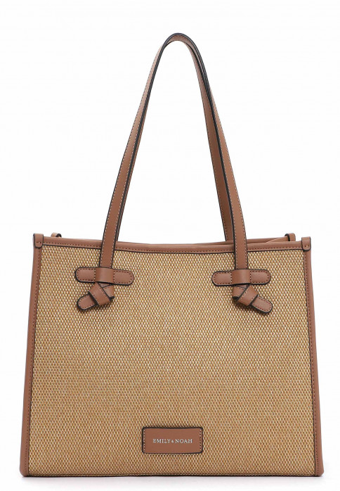 EMILY & NOAH Shopper Esther mittel Braun 62750700 cognac 700