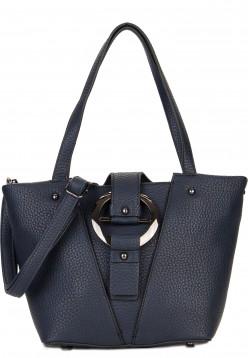 EMILY & NOAH Shopper Silke Blau 61790500 blue 500