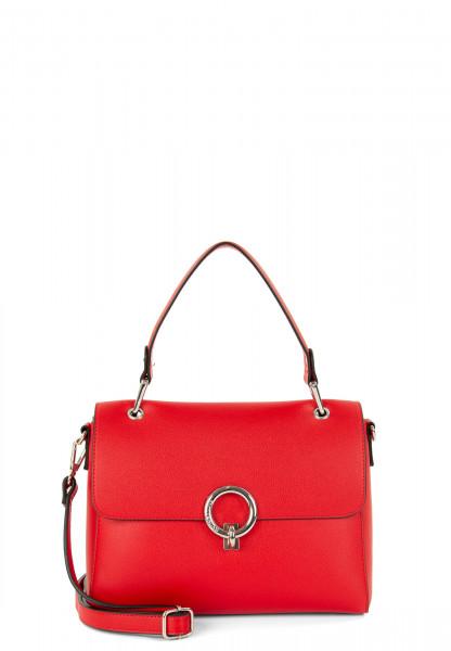 EMILY & NOAH Handtasche mit Überschlag Linda mittel Rot 62112600 red 600