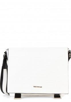 EMILY & NOAH Handtasche mit Überschlag Luna mittel Weiß 62262300 white 300