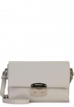 EMILY & NOAH Handtasche mit Überschlag Luca klein Grau 62181810 lightgrey 810