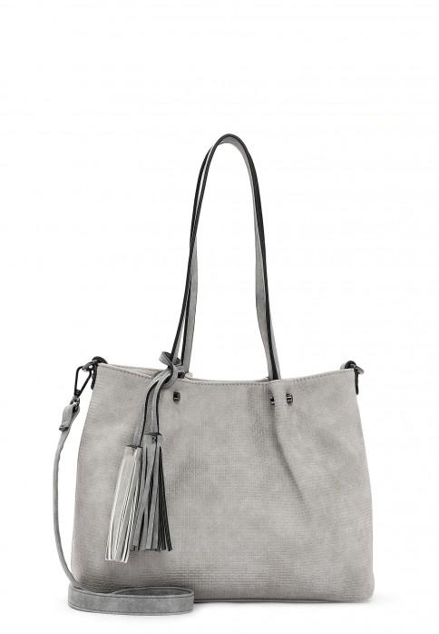 EMILY & NOAH Shopper Bag in Bag Surprise klein Grau 330818 lightgrey grey 818
