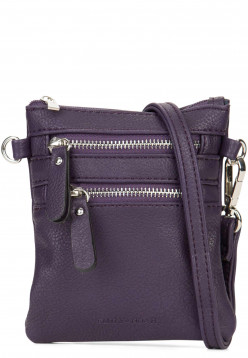 EMILY & NOAH Handtasche mit Reißverschluss Emma Lila 60390620 purple 620