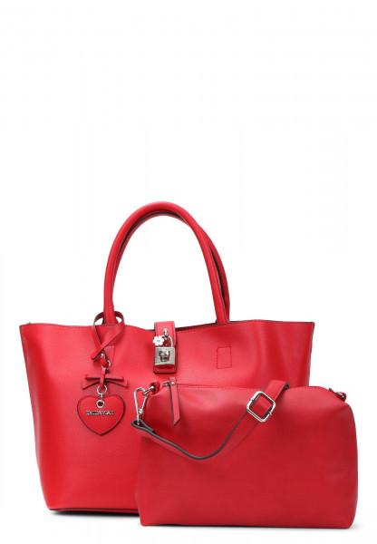 EMILY & NOAH Shopper Polli mittel Rot 61674600 red 600